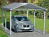 Beckmann Aluminium Carport 310 x 560 x 267 cm Aluminium