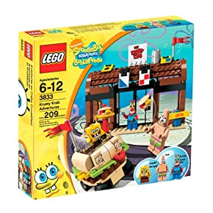 LEGO SpongeBob SquarePants Krusty Krab Adventures (3833)