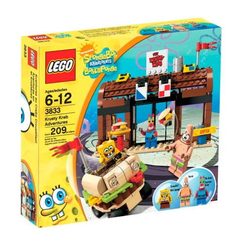 LEGO SpongeBob SquarePants Krusty Krab Adventures (3833)