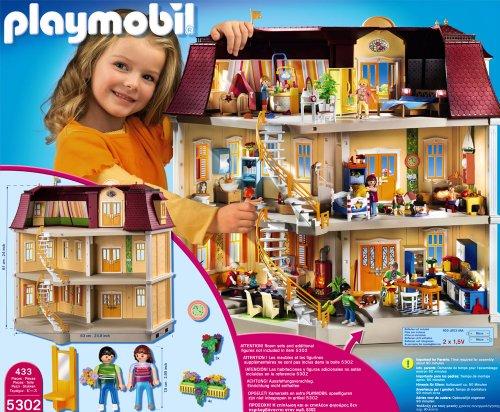 Opiniones de playmobil 5302 casa de mu ecas comprar en juguetes de amazon - Gran casa de munecas playmobil ...