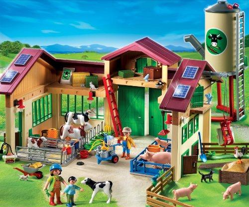 playmobil 5119 la nouvelle ferme avec silo your 1. Black Bedroom Furniture Sets. Home Design Ideas
