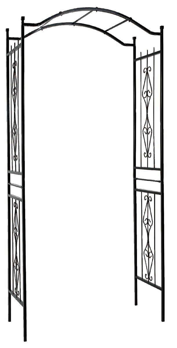 "Gardman R355 Charleston Arch, Black, 3 7"" Wide x 7 7"" High"