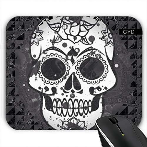Muismat - Sugarskull In Bianco E Nero by More colors in life