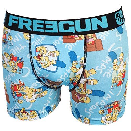Freegun -  Boxer  - Uomo azzurro Large