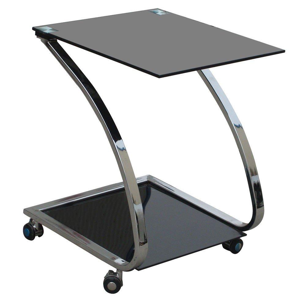 Design Couchtisch Glastisch Nachttisch Metall Beistelltisch BHP Sixtus B154036    Kundenbewertung und Beschreibung