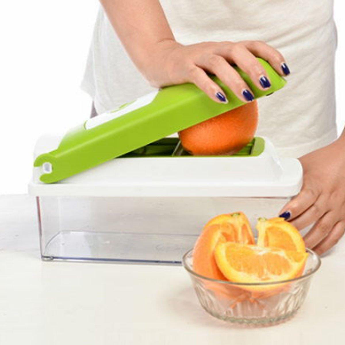 nicer dicer multi chopper vegetable cutting dicing slicing kitchen gadget peeler ebay. Black Bedroom Furniture Sets. Home Design Ideas