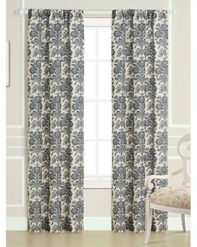 Laura Ashley Set of 2 Tatton Window Curtains, Multi