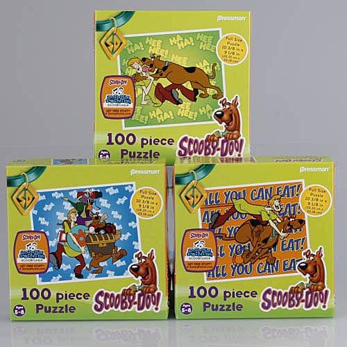Cheap Pressman Scooby-Doo 100 Piece Puzzle 3 Piece Assortment (B0034L0QBK)