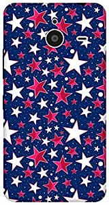 The Racoon Grip printed designer hard back mobile phone case cover for Microsoft Lumia 640 XL. (twinkle)
