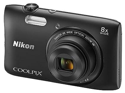 Nikon Coolpix S3600 Appareils Photo Numériques 20.48 Mpix Zoom Optique 8 x