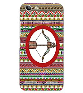 PrintDhaba Zodiac Sagittarius D-5663 Back Case Cover for LENOVO A6020a46 (Multi-Coloured)
