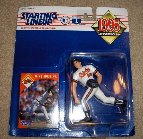 1995 Mike Mussina MLB Baseball Starting Lineup - 1