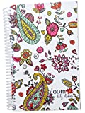 2015 Calendar Year bloom Daily Day Planner Fashion Organizer Agenda January 2015 Through December 2015 Paisley Hearts