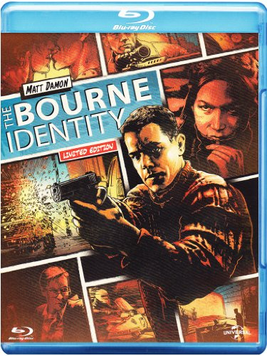 The Bourne identity (reel heroes - limited edition) [Blu-ray] [IT Import]
