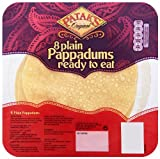 Patak's Original 8 Plain Pappadums Ready to Eat 60 g (Pack of 8)