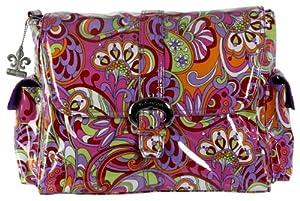 Kalencom Laminated Buckle Changing Bag (Russian Floral Pink)