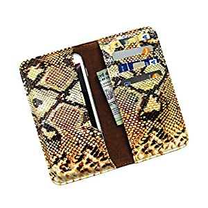 i-KitPit : PU Leather Wallet Flip Pouch Case For Spice Pinnacle FHD (Mi-525)