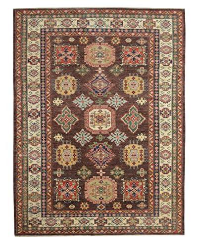 Kalaty One-of-a-Kind Kazak Rug, Brown, 5' 10 x 9' 2