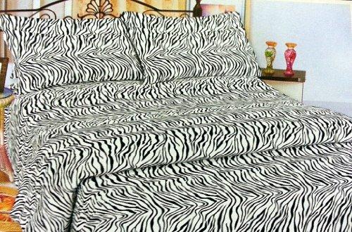 Twin Size Zebra Bedding front-1036504