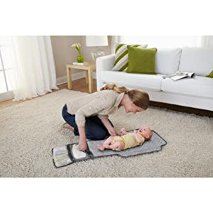 Portable Changing Pad for Changes Anywhere