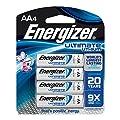 Energizer Ultimate Lithium AA Batteries, World's Longest…