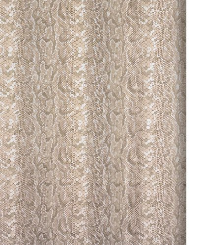 Shower Curtain Fabric Snake Pearl Sand