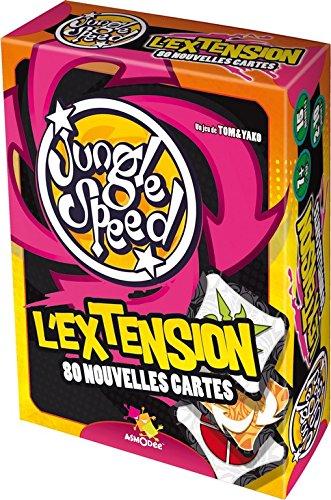Asmodee - JSEXT03 - Jeu d'Action et de Rflexe - Jungle Speed - L'Extension