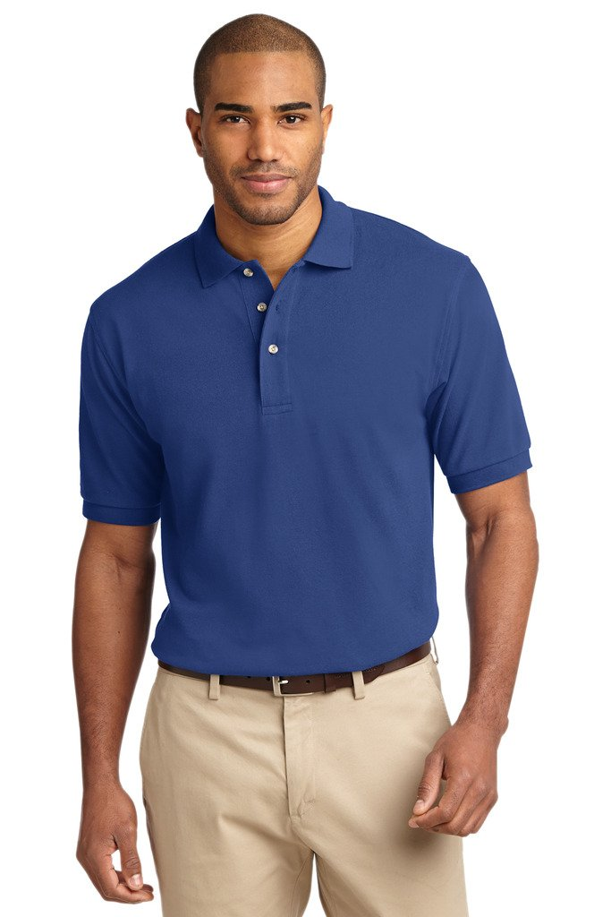 Knit Sport Polo Mens Pique Shirt