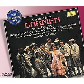 "Bizet: Carmen / Act 2 - ""Votre toast... je peux..."" - ""Tor�ador, en garde"" (Escamillo , tout le monde , Pastia , Zuniga , Carmen/ Choeur, Frasquita, Pastia, Dancaire,"