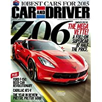 1-Year (12 Issues) of Car and Driver Magazine