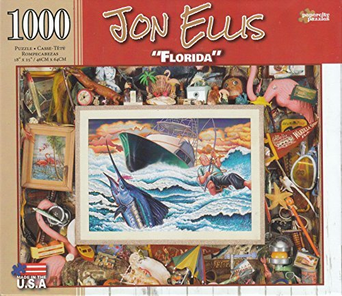 Florida By Jon Ellis 1000 Piece Puzzle