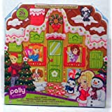 Polly Pocket 24 Piece Advent Calendar with Doll ~ Mattel