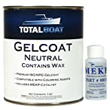 TotalBoat Gelcoat (Neutral, Quart with Wax) (Color: Neutral, Tamaño: Quart With Wax)