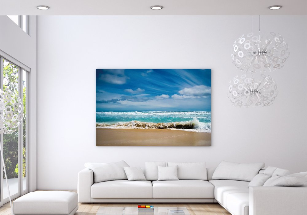 Nature Ocean Waves Poster