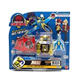 JET Yellow -Turning Mecard W Transforming Robot Car Toys
