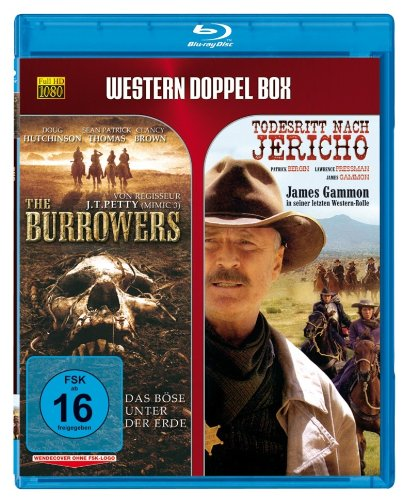 Western Doppel BD: The Burrowers / Todesritt nach Jericho [Alemania] [Blu-ray]