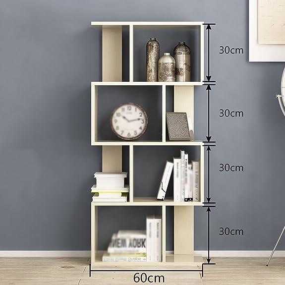 FXQ Scaffale per libri Combination Bookshelf Simple Modern Floorstanding Simple Scaffale Mobili Soggiorno ( Colore : 4-Tier )