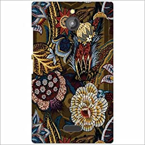 Nokia X2 Back Cover - Flowers Designer Cases