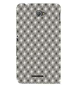 EPICCASE whity sparkles Mobile Back Case Cover For Sony Xperia E4 (Designer Case)