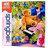 Springbok Christmas Bear Wishes 400 Piece Jigsaw Puzzle