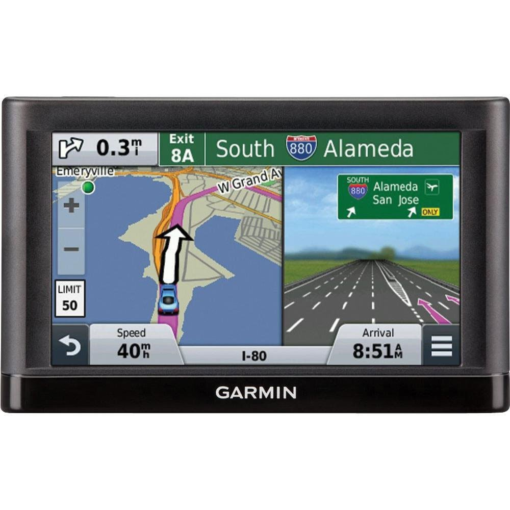 Deals on Garmin nüvi 55LM GPS Navigator System w/Spoken Turn-By-Turn Directions