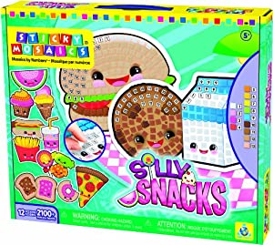 Sticky Mosaics (R) Silly Snacks Kit-Silly Snacks