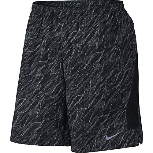 Nike Men's 7'' Flex PR Running Shorts(Black, XXL)