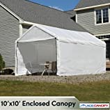 Enclosed Canopy 10x10 - Silver