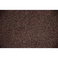 Dean Chocolate Brown Indoor/Outdoor Patio Deck Boat Entrance Carpet/Rug Mat - Size: 4' x 6'