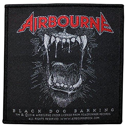 AIRBOURNE, Black dog barking - Patch