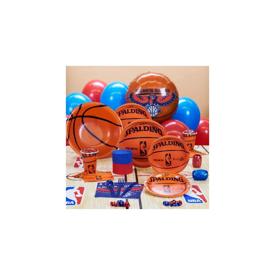 Amscan Atlanta Hawks NBA Basketball Deluxe Party Pack for 18