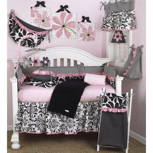 Cotton Tale Designs Girly 8 Piece Crib Bedding Set - 1