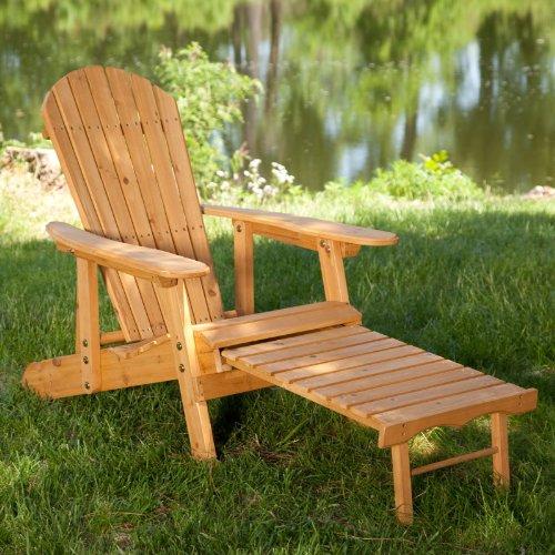 Big Daddy Reclining Adirondack Chair Set with FREE Side