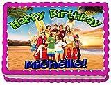 Teen Beach Movie 2 Quarter Sheet Edible Photo Birthday Cake Topper. ~ Personalized!